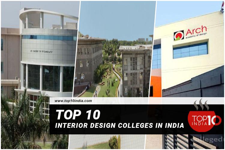 Top 10 Interior Design Colleges in India