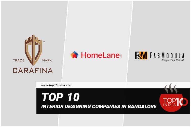 Top 10 Interior Designing Companies In Bangalore