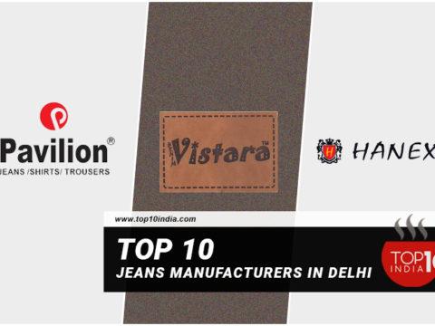 Top 10 Jeans Manufacturers in Delhi