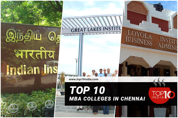 Top 10 MBA Colleges in Chennai