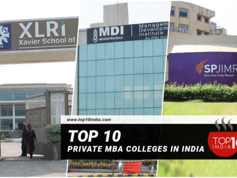 Top 10 Private MBA Colleges in India