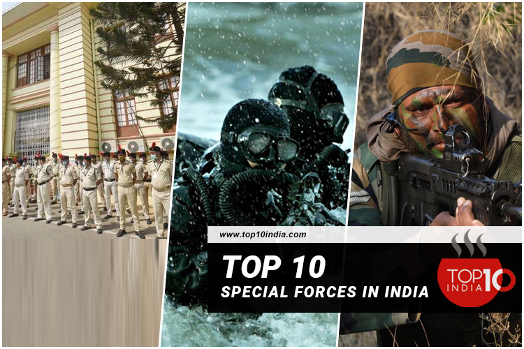 Top 10 Special Forces In India