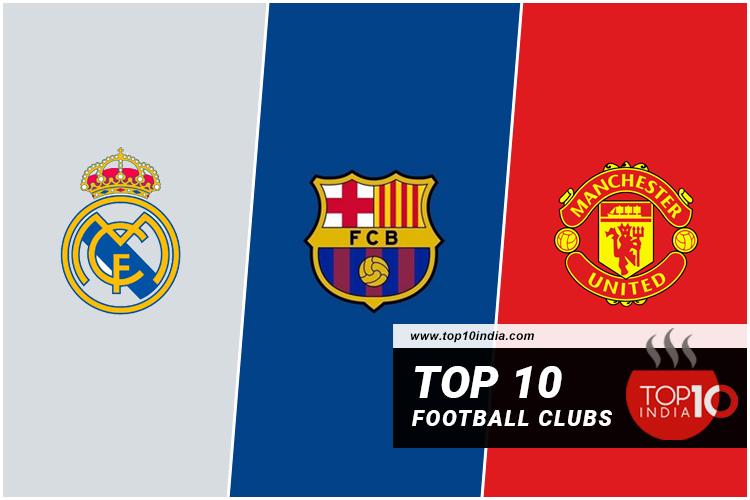 Top 10 football clubs