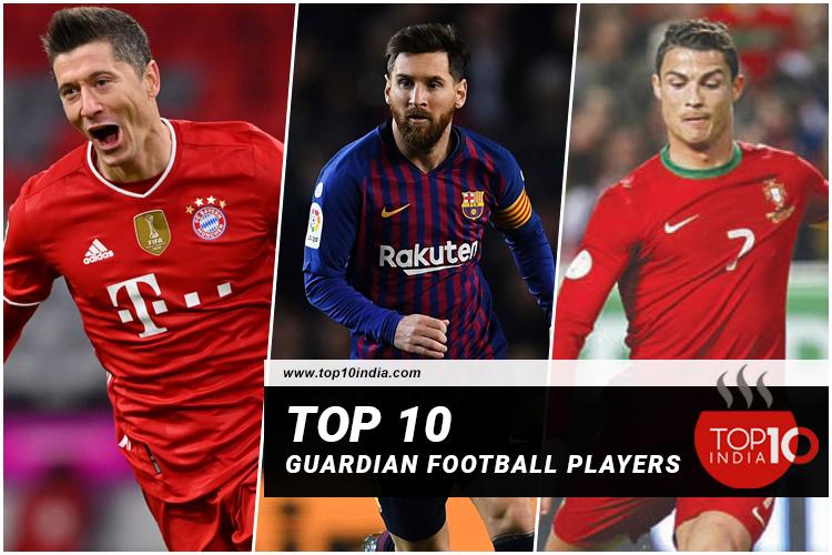 Top 10 guardian football players