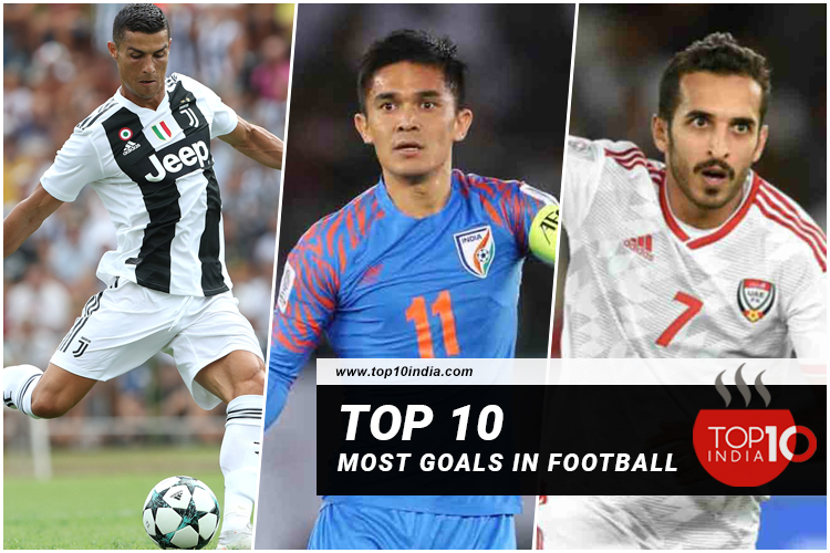 Top 10 most goals in football