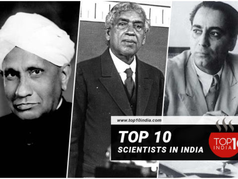 Top 10 scientists in India