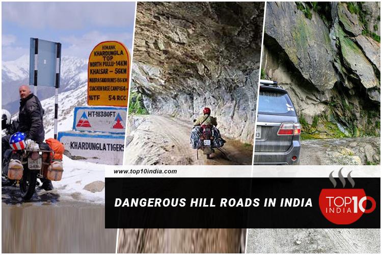 Dangerous Hill Roads in India