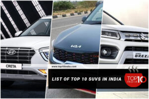 List of Top 10 SUVs In India