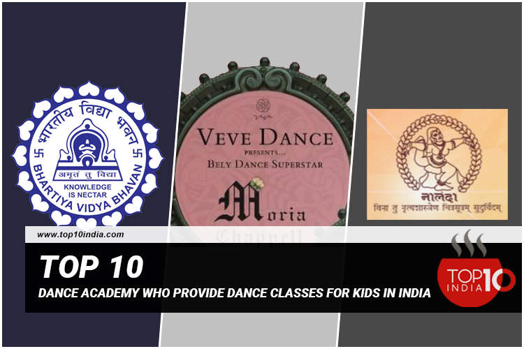 Top 10 Dance Classes For Kids in India