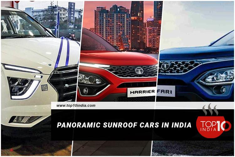Panoramic Sunroof Cars In India
