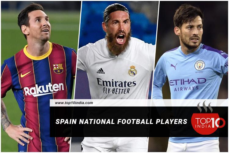 Spain National Football Players