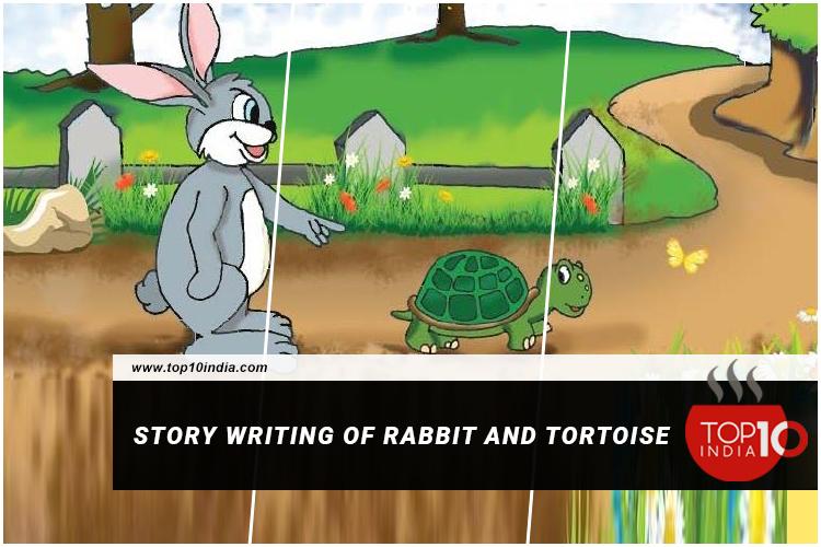 Story Writing of Rabbit And Tortoise