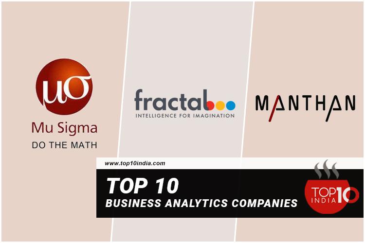 Top 10 Business Analytics Companies