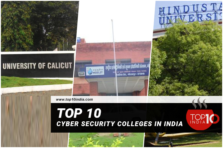Top 10 Cyber Security Colleges In India