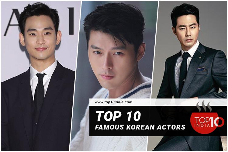 Top 10 Famous Korean Actors