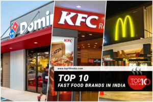 Top 10 Fast Food Brands in India