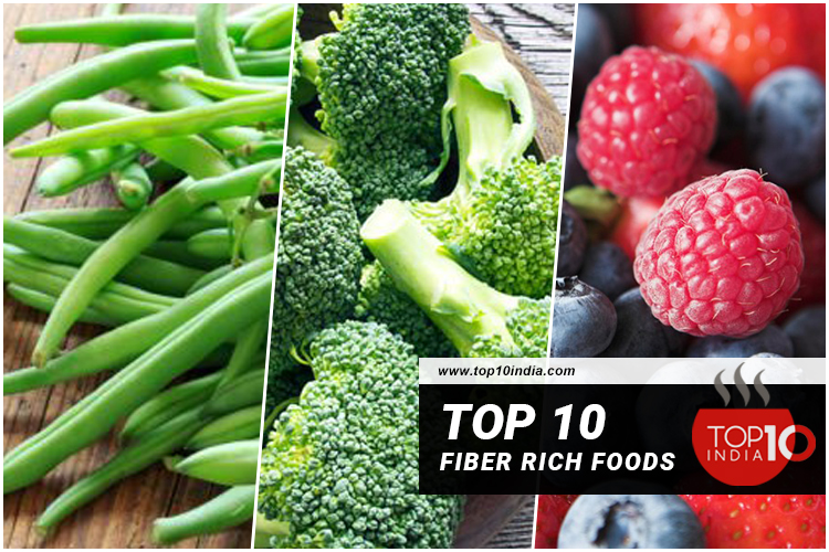 Top 10 Fiber Rich Foods