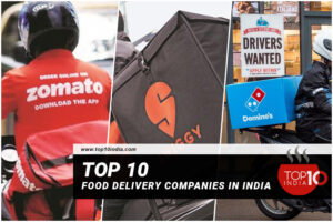 Top 10 Food Delivery Companies in India
