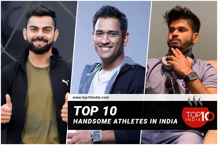 Top 10 Handsome Athletes In India