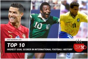 Top 10 Highest Goal Scorer In International Football History