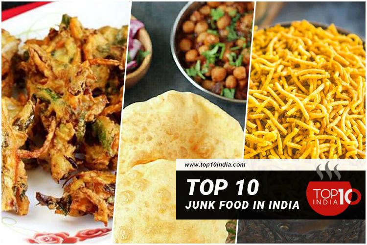 Top 10 Junk Food in India