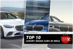 Top 10 Luxury Sedan Cars in India