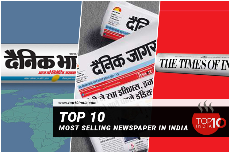 Top 10 Most Selling Newspaper In India