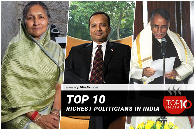Top 10 Richest Politicians In India