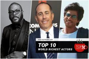 Top 10 World Richest Actors