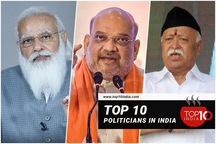 Top Politicians in India