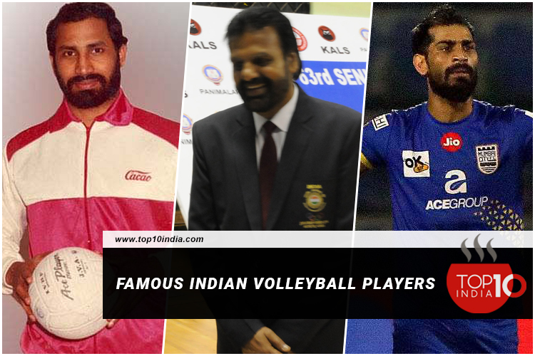 Famous Indian Volleyball players