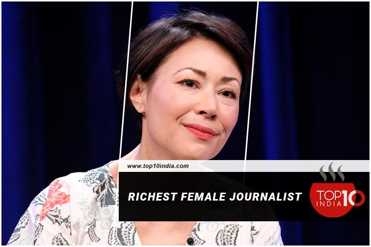 Richest female journalist