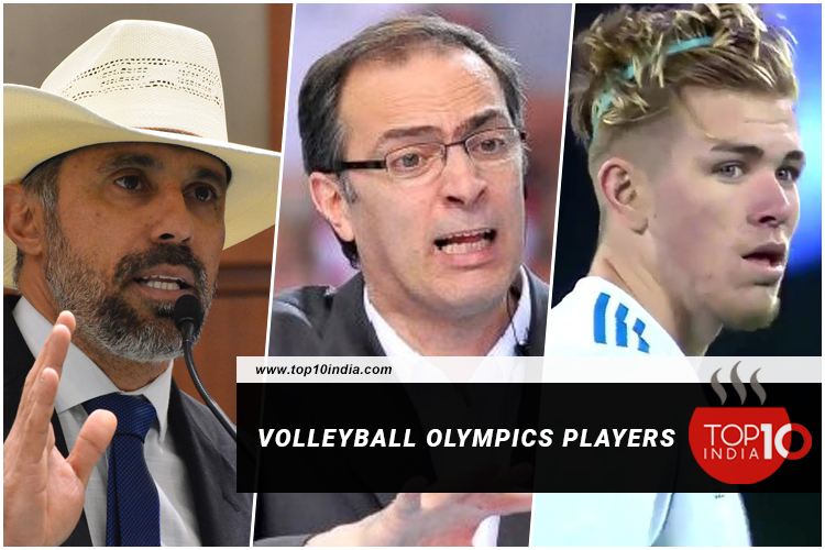 Volleyball Olympics Players